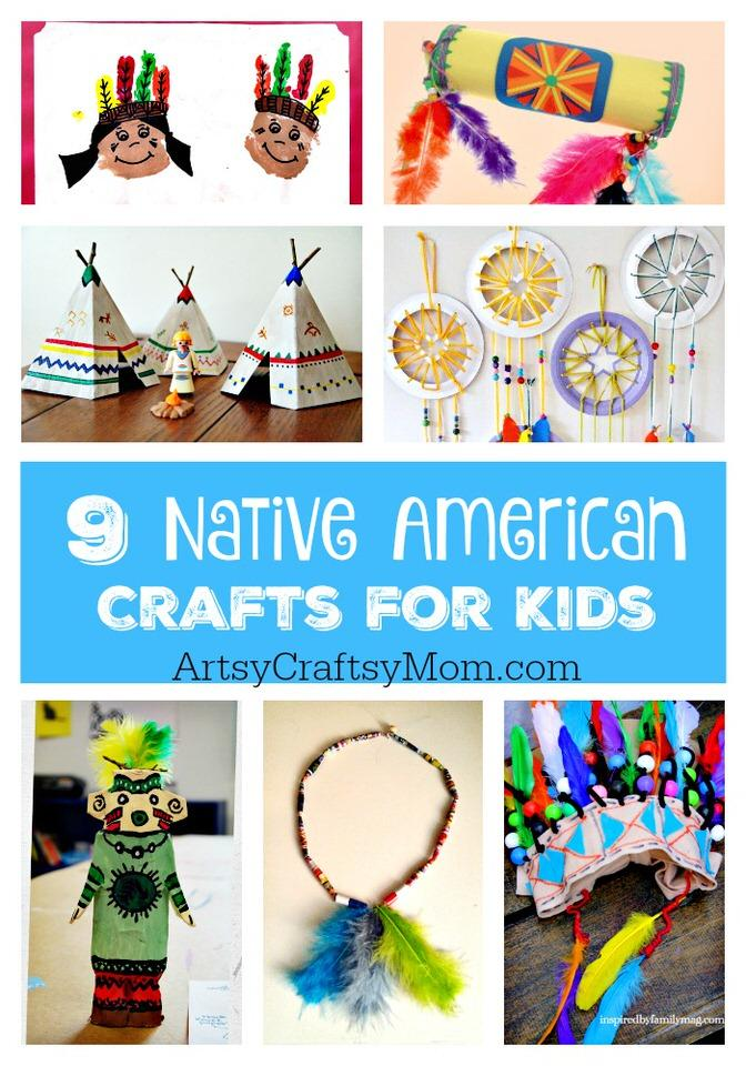 Native American Craft Ideas For Young Kids