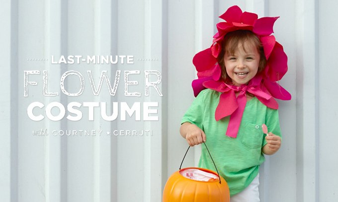 Last minute halloween flower costume - Try these 21+ Last minute Halloween costume ideas that are both creative and easy and you can pull off in less than one hour. Minions, bandits, dolls and more