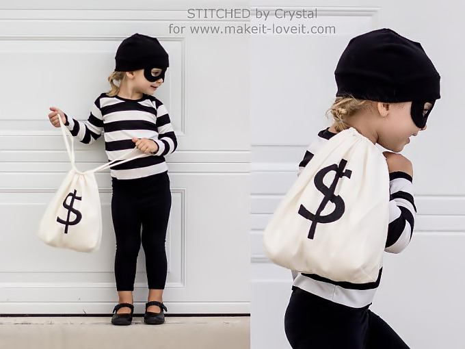 last minute bandit halloween costume - Try these 21+ Last minute Halloween costume ideas that are both creative and easy and you can pull off in less than one hour. Minions, bandits, dolls and more