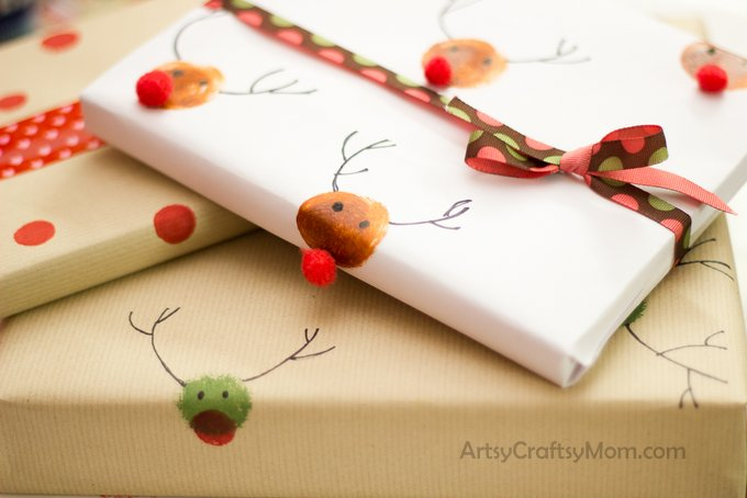 Homemade Christmas wrapping paper_-18