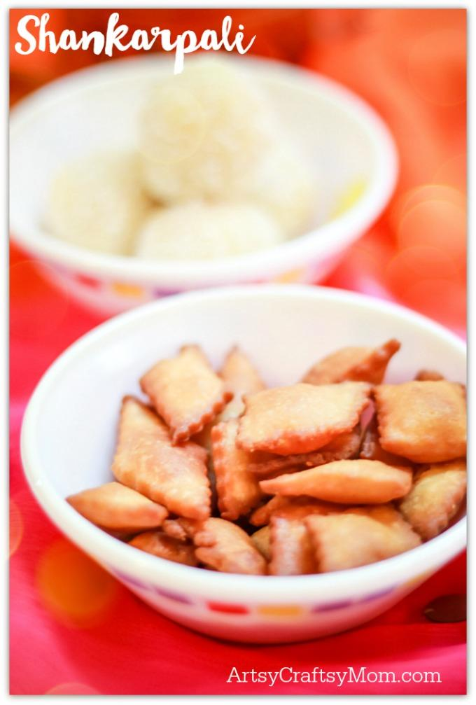 shankarpali diwali recipe - 4 Easy & Quick Diwali Sweet Recipes- Make quick Diwali Sweets Recipes like Nariyal ladoo, besan ladoo, Instant Kalakand and Shankarpali. Perfect for conversations, laughter and family time.