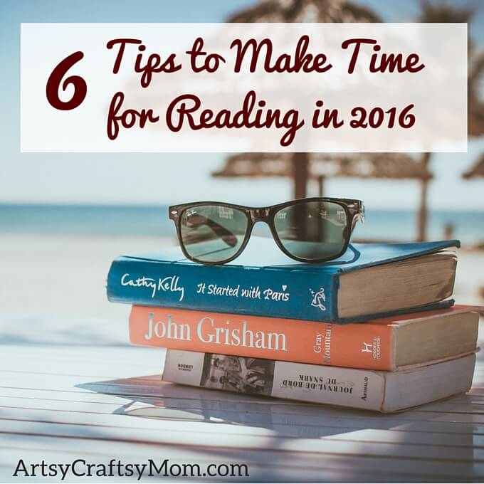 tips to make time for reading
