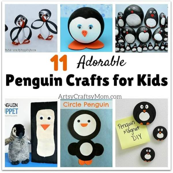 Who doesn't love penguins? These adorable birds are quite popular among children, and they'll have a lot of fun with these fun penguin crafts for kids!