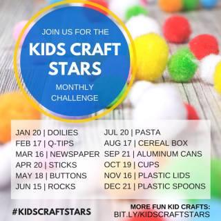 KIDSCRAFTSTARS Monthly Challenge