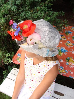 Newspaper Hat -Who ever said that hats were out of style? Join your kids in bringing hats back with these creative hat crafts for National Hat Day.