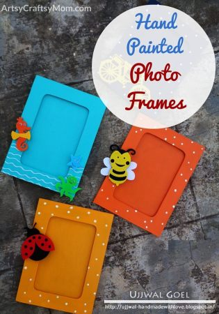 DIY Hand Painted MDF Photo Frame