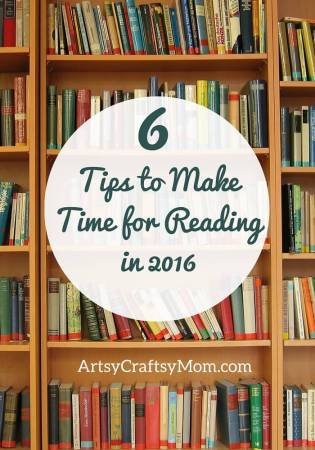 6 Tips to Make Time for Reading in 2016