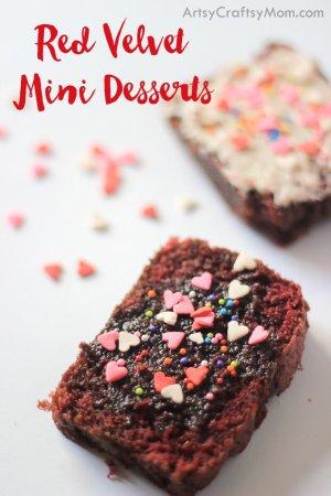 Valentine Red Velvet Mini Desserts