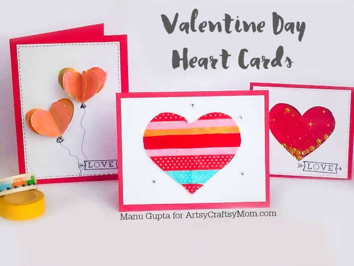 Valentine heart card-2