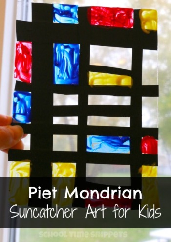 Youtube Mondrian Art For Kids