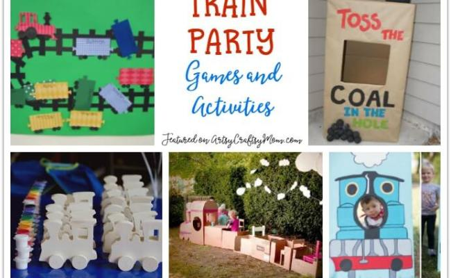 25 Awesome Train Party Ideas For Kids
