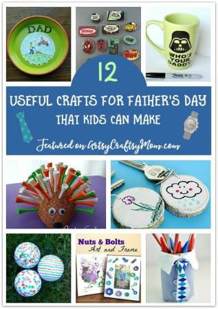 12 Useful Gifts for Father's Day that Kids can Make