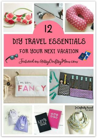 12 DIY Travel Essentials for your Next Vacation