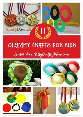 The 11+ Best Olympic Crafts Ideas for kids
