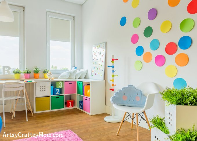 The 5 Essentials To Designing A Creative Kids Playroom