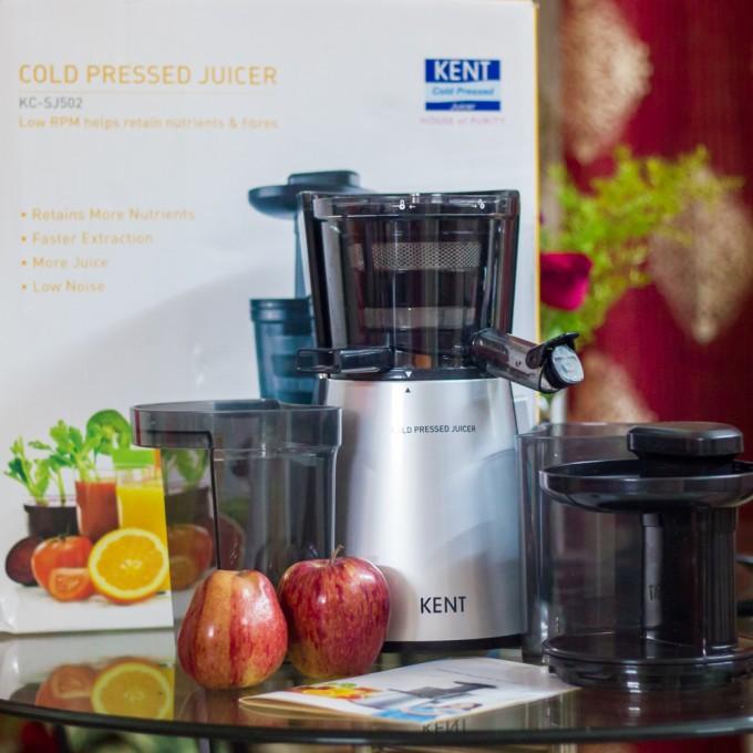 Kent Cold Pressed Juicer KC-SJ502 Review & recipe