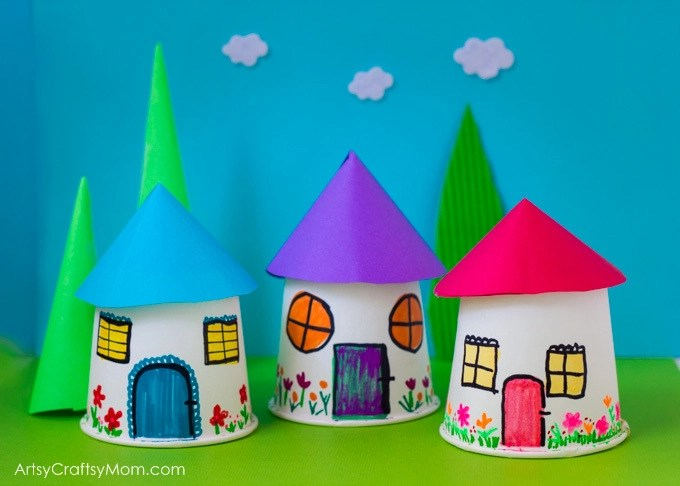 Easy Crafts With Paper Cups