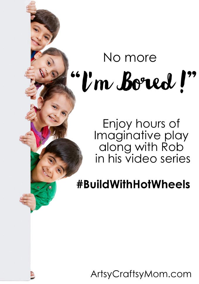 Imaginative Play and Child Development #BuildWithHotWheels . Enjoy hours of DIY fun with Rob as he shows us how in his new video series.