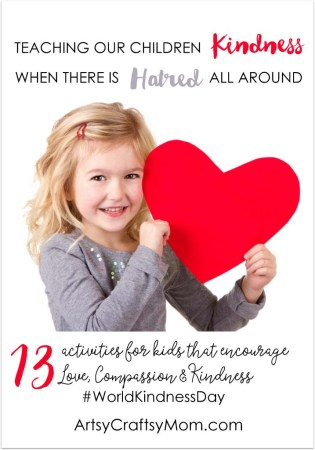 13 Kindness Activities for Kids to Celebrate World Kindness Day
