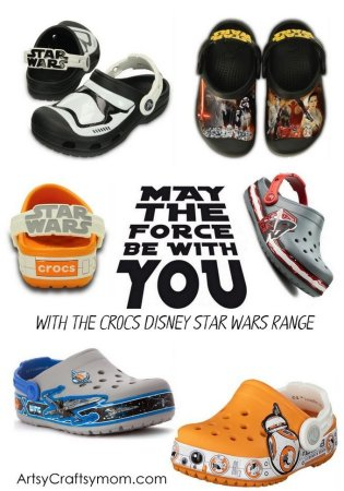 Get Inspired with Star Wars Quotes and the Crocs Disney Star Wars Range!