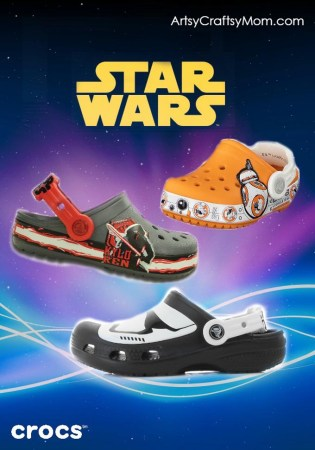 An Evergreen Movie and All Weather Disney Star Wars Crocs!