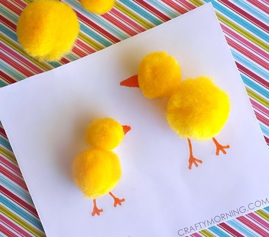 Pom poms are so fluffy and colorful! Here are 20 Pretty Pom Pom Crafts for Kids to make and have fun playing with afterward!