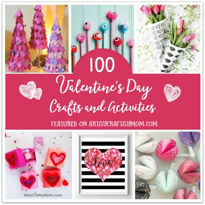 581f1e5f1 The Ultimate List of 100 Valentine's Day Crafts and Activities