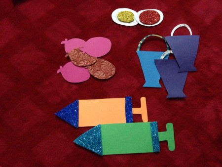 The main focus of Holi is usually on splashing colors around, but you can make it more fun with some Holi Crafts and Activities for Kids too!