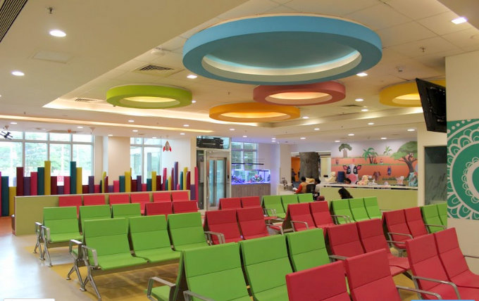 Hospitals aren't known for their ambiance, but the Rainbow Hospitals in Bangalore and Hyderabad are a world apart, with trained staff and complete facilities!