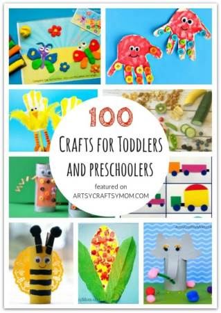 Ultimate List of 100 Crafts and Activities for Toddlers and Preschoolers