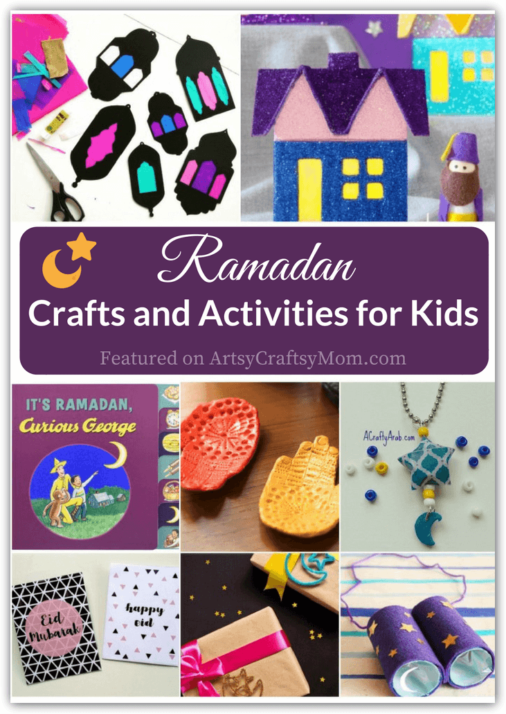 These beautiful Ramadan Crafts and Activities for Kids are perfect if you've been wondering what Ramadan is or would like to join in the celebrations!