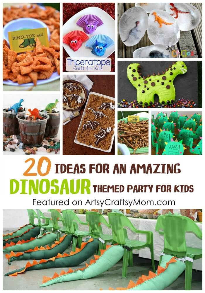 birthday party ideas crafts 20 ideas for an amazing dinosaur themed for 3456