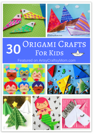 30 Awesome Origami Crafts for Kids