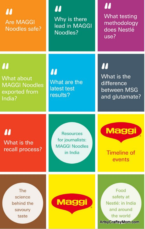 Busting Myths about Maggi & a visit to the Nestle R & D Center