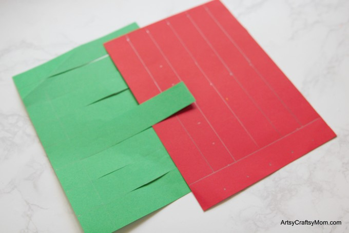 Construction paper christmas gifts
