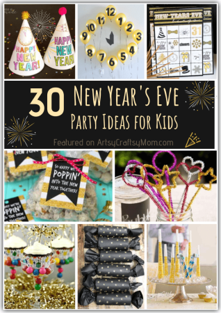 30 DIY New Year's Eve Party Ideas for Kids