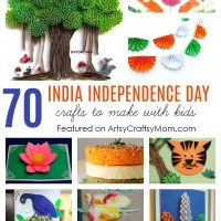 70+ INDIA INDEPENDENCE DAY CRAFTS AND ACTIVITIES FOR KIDS