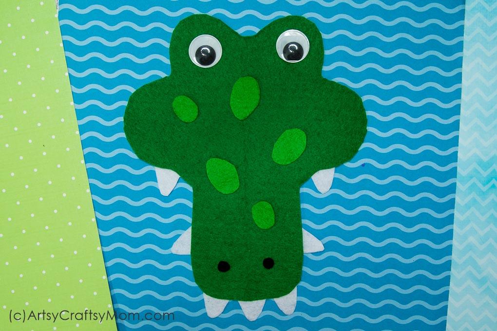 graphic regarding Alligator Printable named Printable Alphabet Animal A for Alligator Craft - Artsy