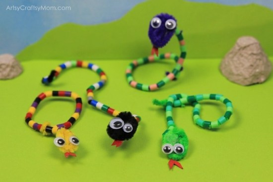 Pipe Cleaner Crafts for Kids & 25 Playful Pipe Cleaner Crafts for Kids