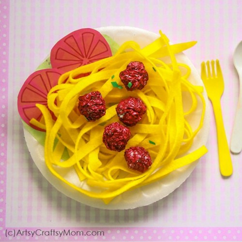 20 No Sew Pretend Play Food Crafts For Kids