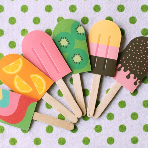 pretend play food crafts for kids