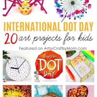 20 International Dot Day Art Projects for Kids