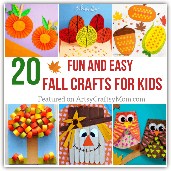 20 Fun And Easy Fall Crafts For Kids