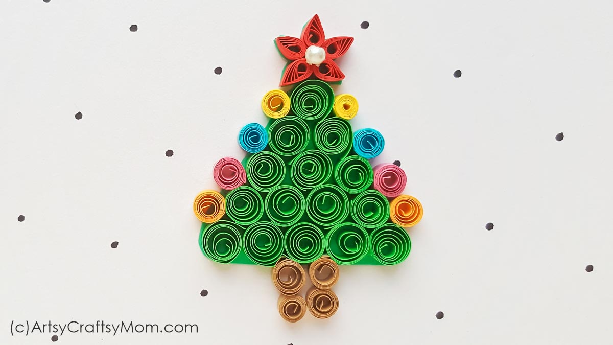 Diy Paper Quilling Christmas Tree Ornament
