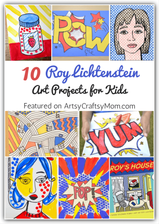10 Roy Lichtenstein Art Projects for Kids