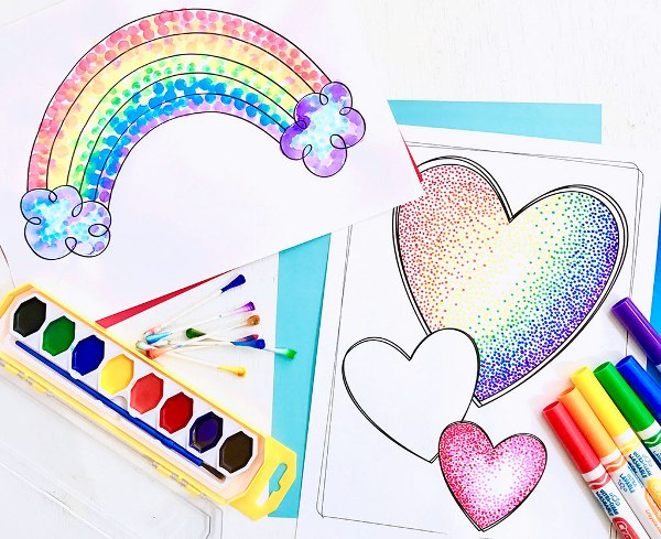 The artist Seurat showed us how a simple dot can create great art! Introduce kids to the science of color with these Georges Seurat art projects for kids.