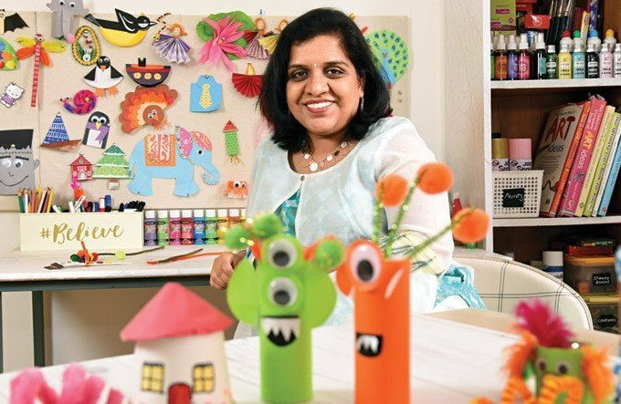Artsy Craftsy Mom - Top Indian hobby, art and craft blog for