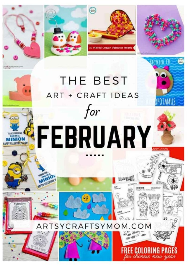 Art and Craft Activities for the month of February
