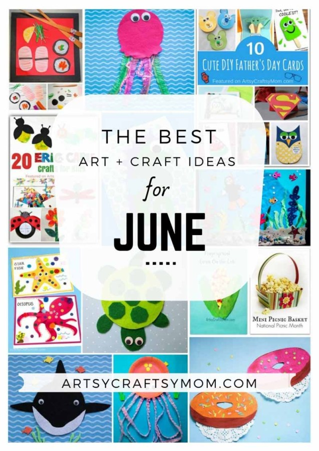 Art and Craft Activities for the month of June