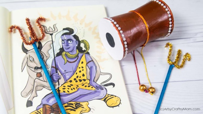 Maha Shivaratri is celebrated in honor of Lord Shiva. Let's celebrate this auspicious occasion with some easy Maha Shivratri Activities for Kids.